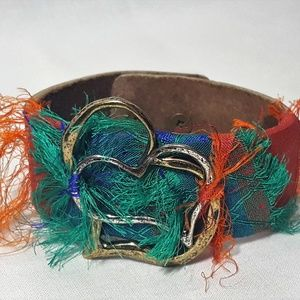 Jewelry - Handmade Leather Cuff Bracelet